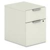 HON® Voi Mobile Box/File Pedestal, 15 3/4w x 20 11/16d x 21 7/16h, Silver Mesh HONVMP20XB
