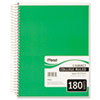 Mead® Spiral Bound Notebook, Perforated, College Rule, 10 1/2 x 8, White, 180 Sheets MEA05682