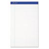 Ampad® Recycled Writing Pads, Legal, White, 50 Sheets, Dozen TOP20180