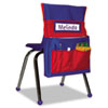 <strong>Carson-Dellosa Education</strong><br />Chairback Buddy Pocket Chart, 15 x 19, Blue/Red