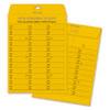 Brown Kraft Redi-Tac Box-Style Interoffice Envelope, #97, Two-Sided Three-Column Format, 10 x 13, Brown Kraft, 100/Box