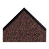 "Dust-Star Microfiber Wiper Mat, 36"" x 60"", Red"
