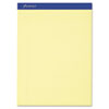 Ampad® Recycled Writing Pads, 8 1/2 x 11 3/4, Canary, 50 Sheets, Dozen TOP20270
