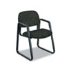 Safco® Cava Urth Collection Sled Base Guest Chair, Black SAF7047BL