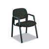 Safco® Cava Urth Collection Straight Leg Guest Chair, Black SAF7046BL