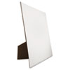 Easel Backed Board, 22x28, White, 1/each