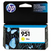 HP HP 951, (CN052AN) Yellow Original Ink Cartridge HEWCN052AN