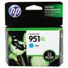 HP HP 951XL, (CN046AN) High Yield Cyan Original Ink Cartridge HEWCN046AN