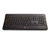 Logitech® K800 Wireless Illuminated Keyboard, Black LOG920002359