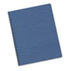 Fellowes® Classic Grain Texture Binding System Covers, 11-1/4 x 8-3/4, Navy, 200/Pack FEL52136