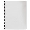 Fellowes® Classic Grain Texture Binding System Covers, 11-1/4 x 8-3/4, White, 200/Pack FEL52137
