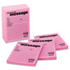 Post-it® Notes Super Sticky Self-Stick Message Pad, 4 x 5, Pink, 50-Sheet, 12/Pack MMM766212SS