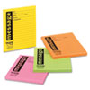Post-it® Notes Super Sticky Self-Stick Message Pad, 3 7/8 x 4 7/8, Rio de Janeiro Colors, 50-Sheet,  MMM76794SS