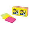 Post-it® Pop-up Notes Original Pop-up Refill, 3 x 3, Assorted Jaipur Colors, 100-Sheet, 12/Pack MMMR33012AU