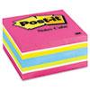 Post-it® Notes Original Cubes, 3 x 3, Pink Wave, 400-Sheet MMM2027RCR