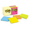 Post-it® Notes Original Pads Value Pack, 3 x 3, Canary Yellow/Cape Town, 100-Sheet, 14 Pads MMM65414YWM