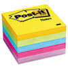 Post-it® Notes Original Pads in Jaipur Colors, 3 x 3, 100-Sheet, 5/Pack MMM6545UC
