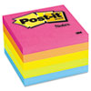 Post-it® Notes Original Pads in Cape Town Colors, 3 x 3, 100-Sheet, 5/Pack MMM6545PK