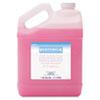 Boardwalk® Mild Cleansing Pink Lotion Soap, Floral-Lavender Scent, Liquid, 1gal Bottle BWK410EA