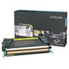 Lexmark™ C734A2YG Toner, 6000 Page-Yield, Yellow LEXC734A2YG