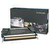 Lexmark™ C734A2KG High-Yield Toner, 8000 Page-Yield, Black LEXC734A2KG