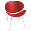 Safco Sy 3563 Guest Chair - Red Seat SAF3563RD