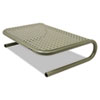 "<strong>Allsop®</strong><br />Metal Art Jr. Monitor Stand, 14.75"" x 11"" x 4.25"", Pewter, Supports 40 lbs"