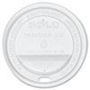 <strong>Dart®</strong><br />Traveler Cappuccino Style Dome Lid, White, 300/Carton