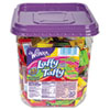 Nestle® Wonka Assorted Flavor Laffy Taffy, 3.08lb, 145 Wrapped Pieces/Tub NES48749