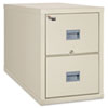 FireKing® Patriot Insulated Two-Drawer Fire File, 20-3/4w x 31-5/8d x 27-3/4h, Parchment FIR2P2131CPA