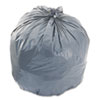 Boardwalk® LD Can Liners, 40-45gal, .95mil, 40w x 46h, Gray, 25 Bags/Roll, 4 Rolls/CT - BWK4046SH
