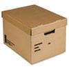 "8115014554036 SKILCRAFT File Storage Box, Letter Files, 12"" x 15"" x 10"", Kraft, 25/Bundle"