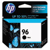 HP 96, (C8767WN) Black Original Ink Cartridge