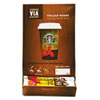 Starbucks® VIA Ready Brew Coffee, 3/25oz, Italian Roast, 50/Box SBK11008130