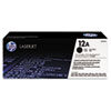 HP 12A, (Q2612A-G) Black Original LaserJet Toner for US Government