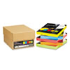 Astrobrights® Color Paper - Five-Color Mixed Reams, 24lb, 8 1/2 x 11, 5 Colors, 1250 Sheets WAU22998