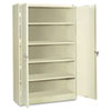 <strong>Tennsco</strong><br />Assembled Jumbo Steel Storage Cabinet, 48w x 24d x 78h, Putty