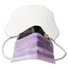 Medline Prohibit Face Mask w/Eyeshield, Polypropylene/Cellulose, Purple, 25/Box MIINON27410EL
