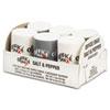 Office Snax® Mini Condiment Set, .4oz Salt, .17oz Pepper, Six-Shaker Set OFX00056