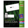 Avery® EcoFriendly Laser/Inkjet Easy Peel Mailing Labels, 1 1/3 x 4, White, 1400/Pack AVE48462