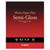 Photo Paper Plus Semi-Gloss, 8 x 10, Semi-Gloss White, 50/Pack