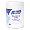 PURELL® Sanitizing Hand Wipes, 6 x 6 3/4, White, 270/Canister, 6 Canisters/Carton GOJ911306CT