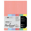 Astrobrights® Glisten Pearlescent Colored Card Stock, 65lb, 8 1/2 x 11, 48 Sheets WAU45124
