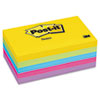 Post-it® Notes Original Pads in Jaipur Colors, 3 x 5, 100-Sheet, 5/Pack MMM6555UC