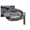 BALT® Four-Outlet Electrical Assembly with Winder, 25-Foot Cord, Black BLT66450