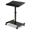 BALT® Scamp Speaker Stand, 24w x 18d x 27 to 43h, Black BLT43062