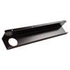 BALT® Split-Level Training Table Cable Tray, Metal, 21-1/2w x 3d, Black, 2/Pack BLT65850