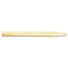 "Threaded End Broom Handle, 15/16"" X 60"", Natural Wood"