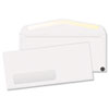 Window Envelope, #10, 4 1/8 x 9 1/2, White, Recycled, 500/Box