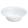 Quiet Classic Laminated Foam Dinnerware, Bowl, 12 oz, White, 125/Pack
